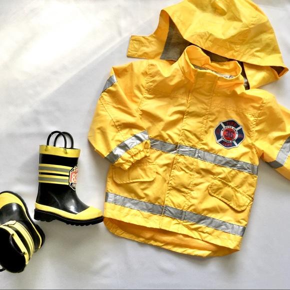 Western Chief Other - Fire Chief Kids Rain Set